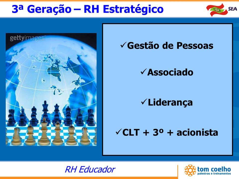 3ª Geração – RH Estratégico