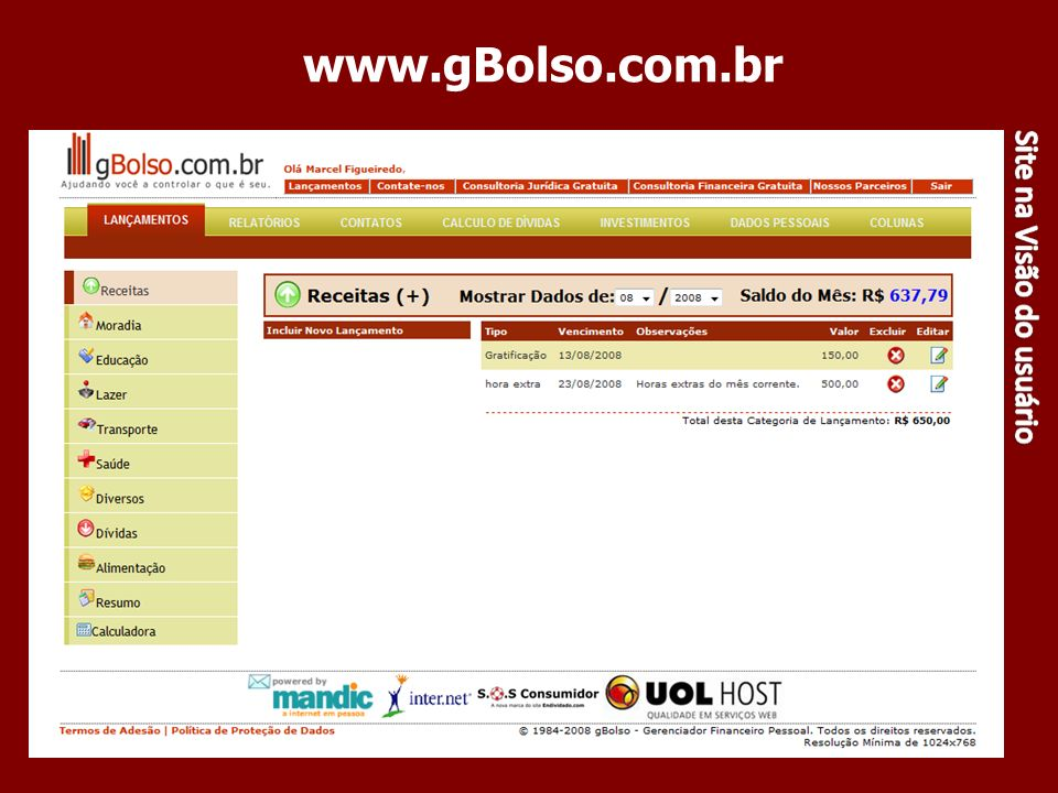 www.gBolso.com.br 70