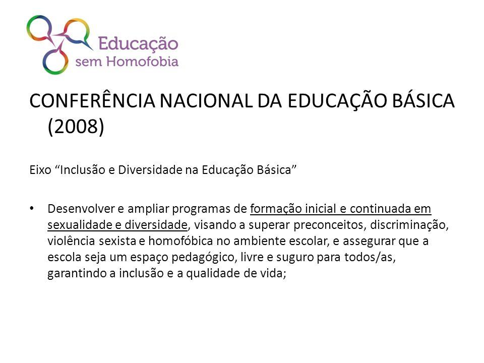 CONFERÊNCIA NACIONAL DA EDUCAÇÃO BÁSICA (2008)