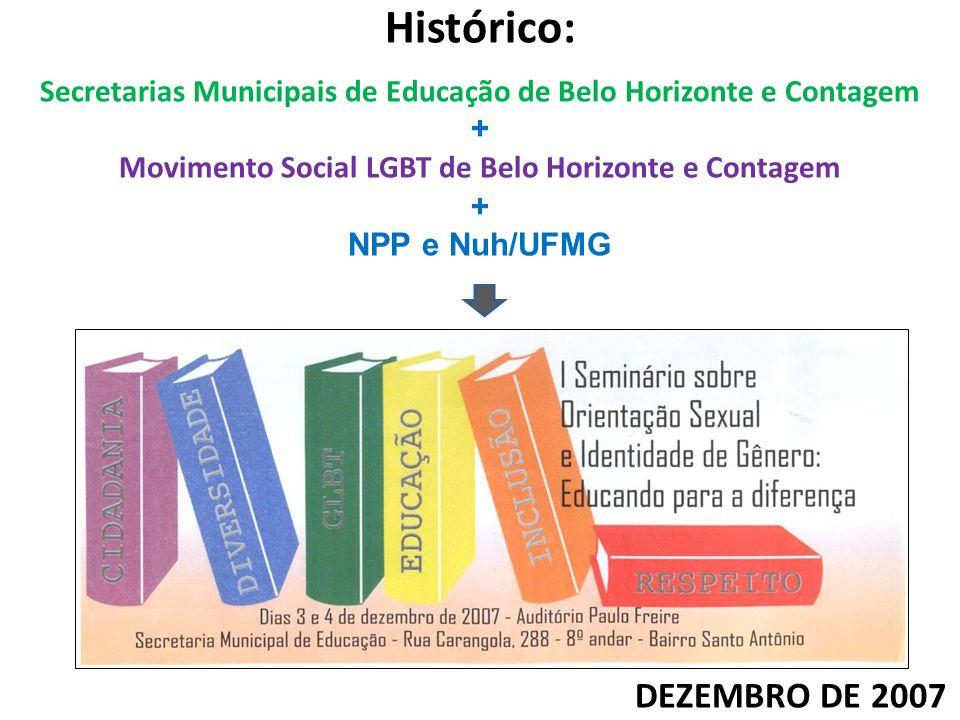Histórico: DEZEMBRO DE 2007