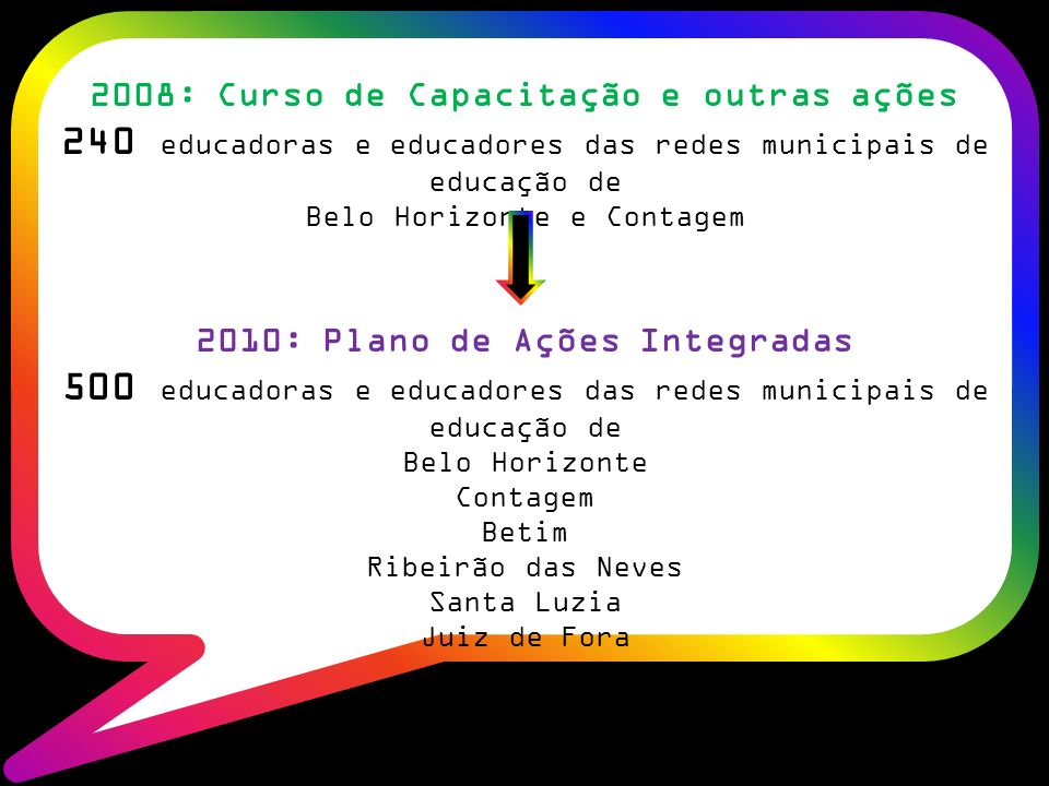 240 educadoras e educadores das redes municipais de educação de
