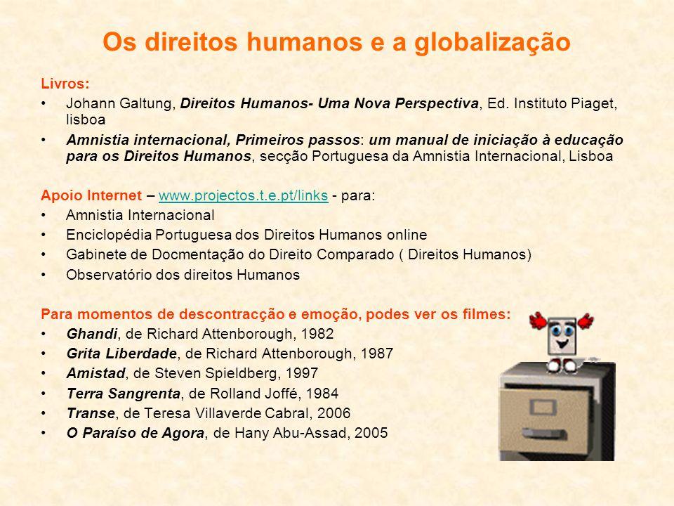 Os direitos humanos e a globalização