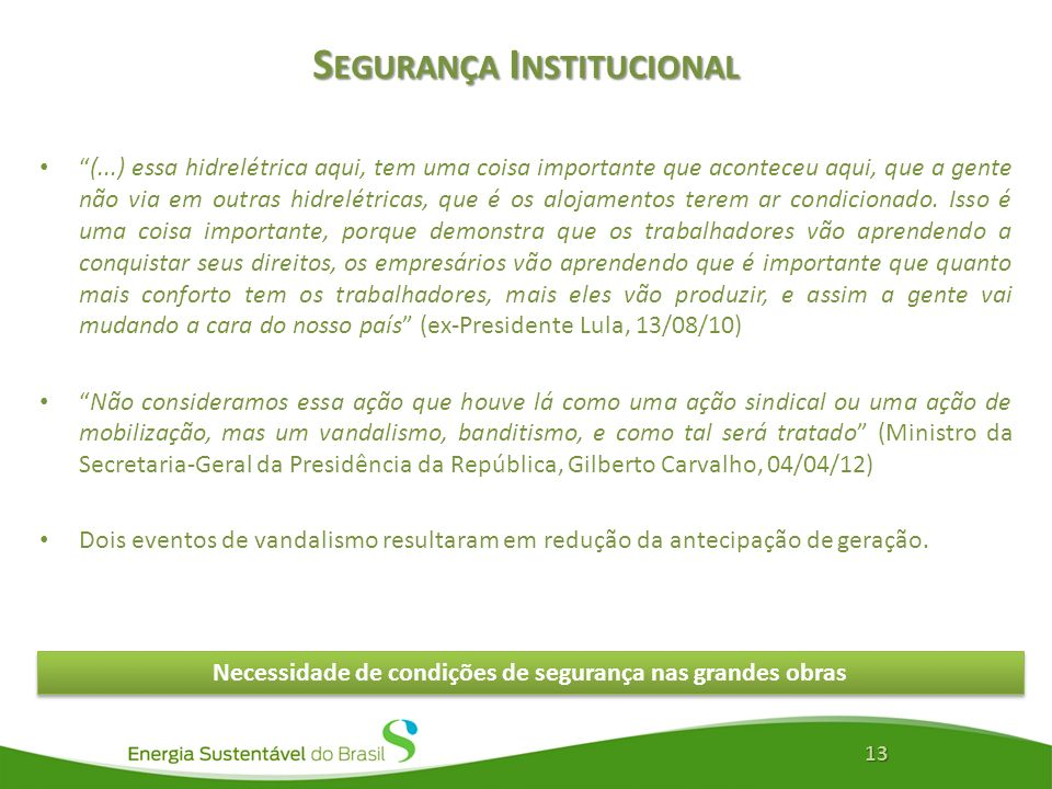 Segurança Institucional