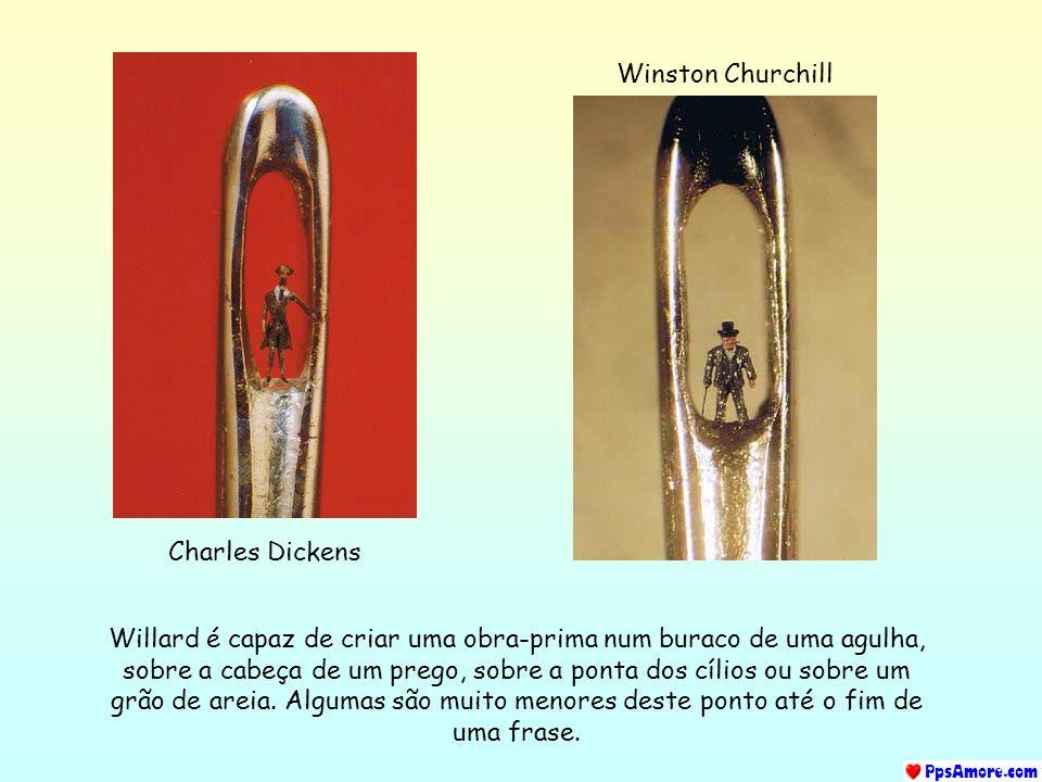 Winston Churchill Charles Dickens.