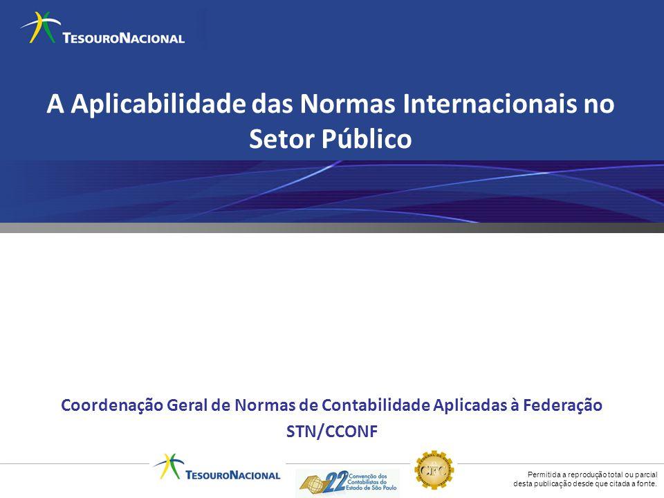 A Aplicabilidade das Normas Internacionais no Setor Público