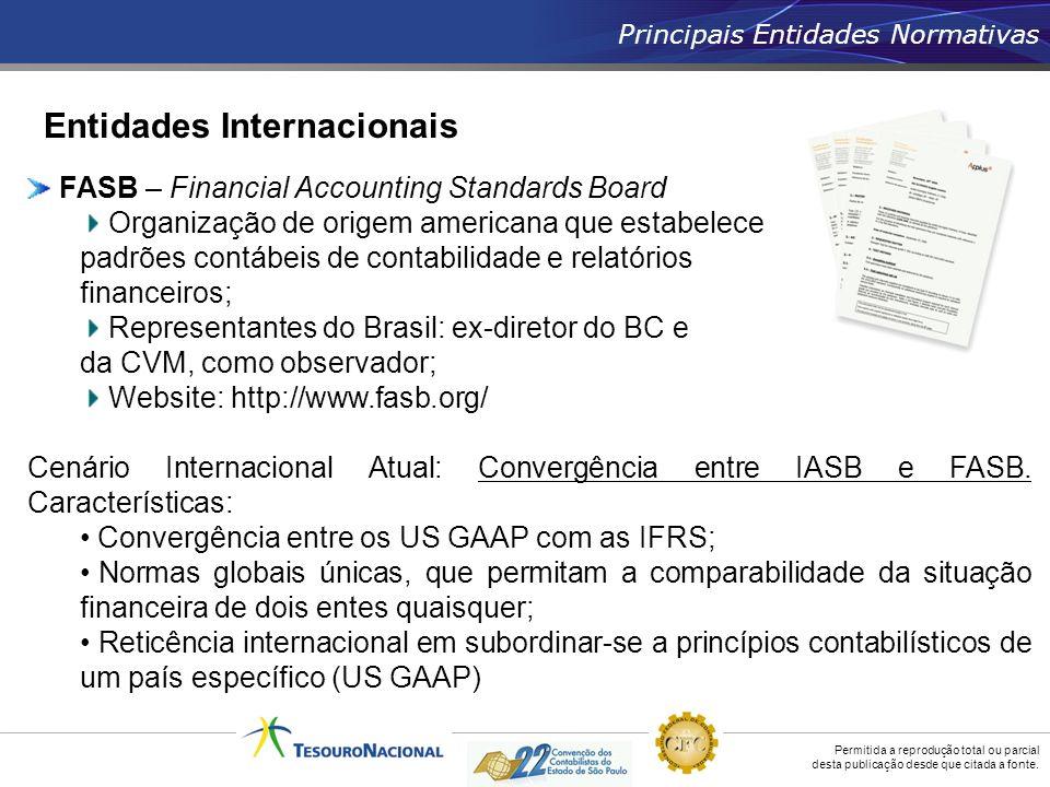 Entidades Internacionais