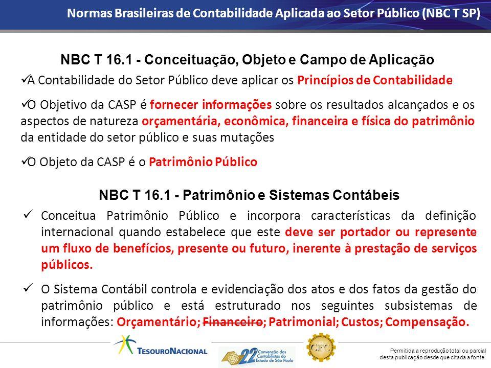 NBC T 16.1 - Conceituação, Objeto e Campo de Aplicação