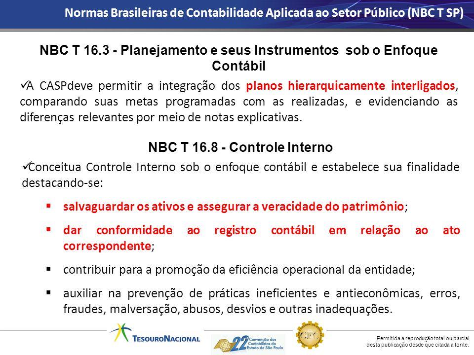 NBC T 16.3 - Planejamento e seus Instrumentos sob o Enfoque Contábil