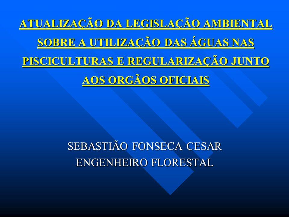 SEBASTIÃO FONSECA CESAR ENGENHEIRO FLORESTAL