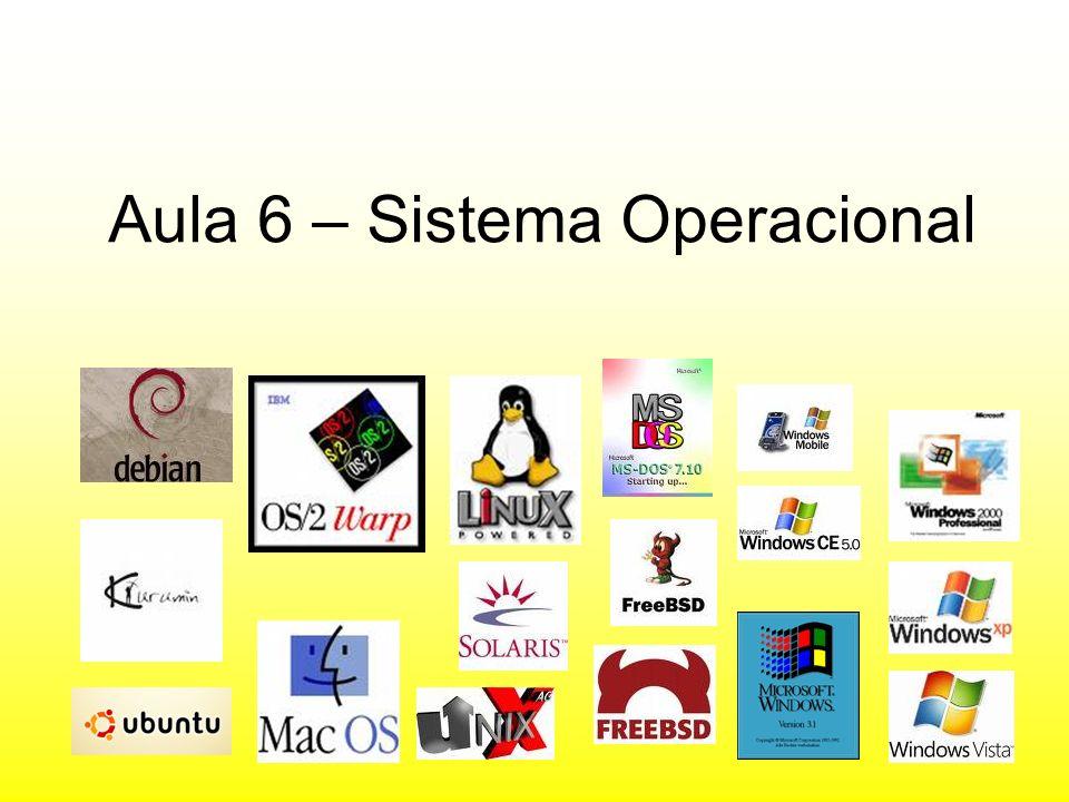 Aula 6 – Sistema Operacional