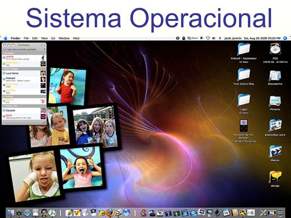 Sistema Operacional Exemplos : - MAC / OS