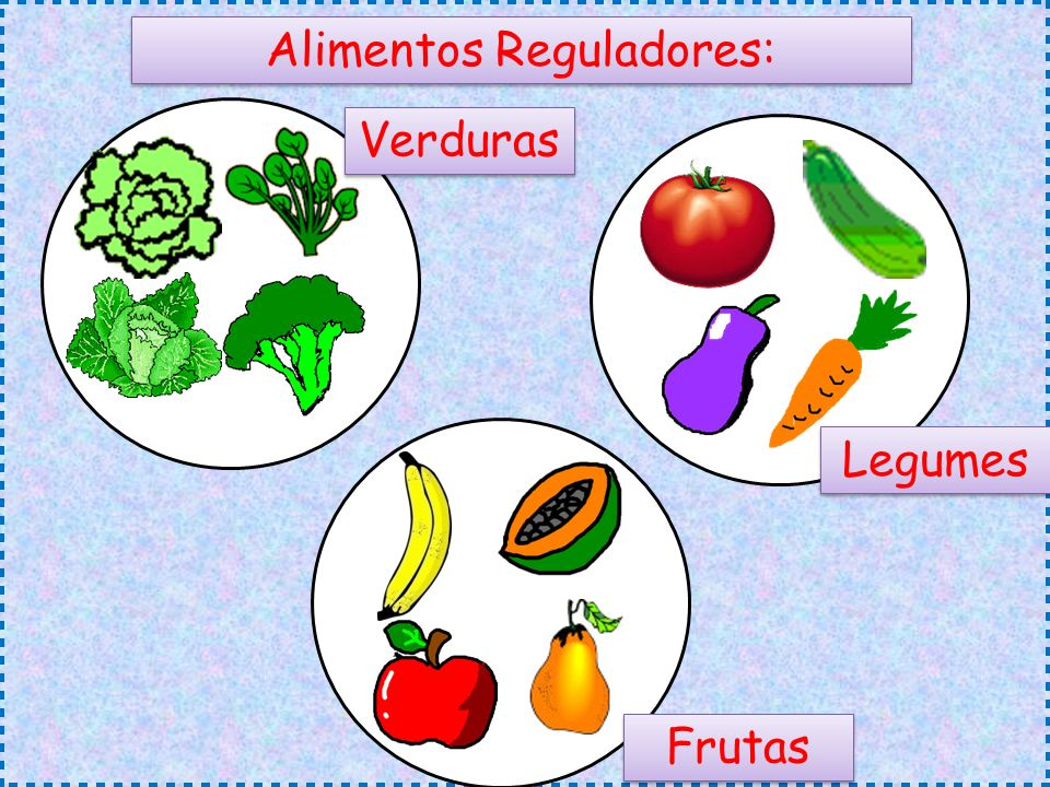 Alimentos Reguladores: