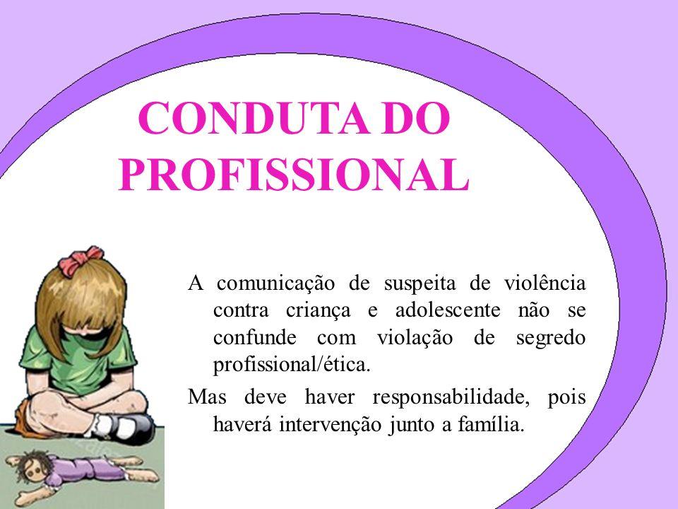 CONDUTA DO PROFISSIONAL