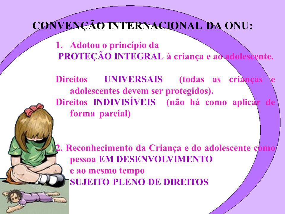CONVENÇÃO INTERNACIONAL DA ONU: