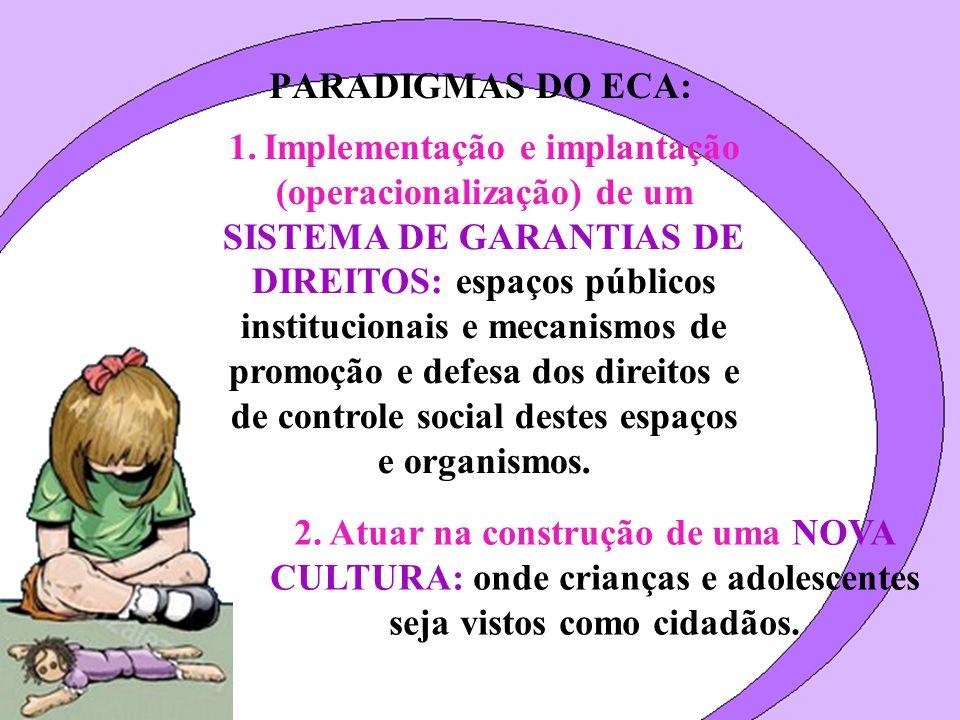 PARADIGMAS DO ECA: