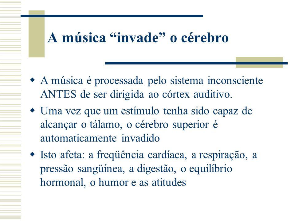 A música invade o cérebro
