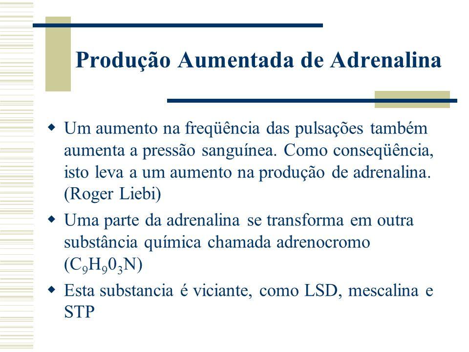 Produção Aumentada de Adrenalina