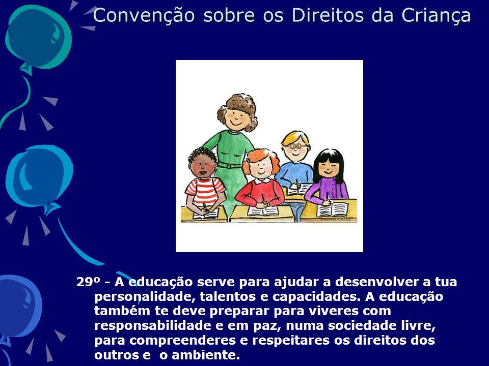 Convenção sobre os Direitos da Criança