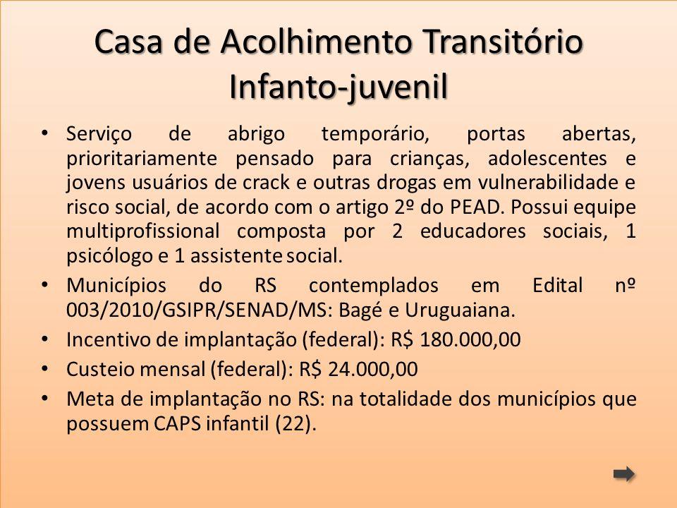 Casa de Acolhimento Transitório Infanto-juvenil