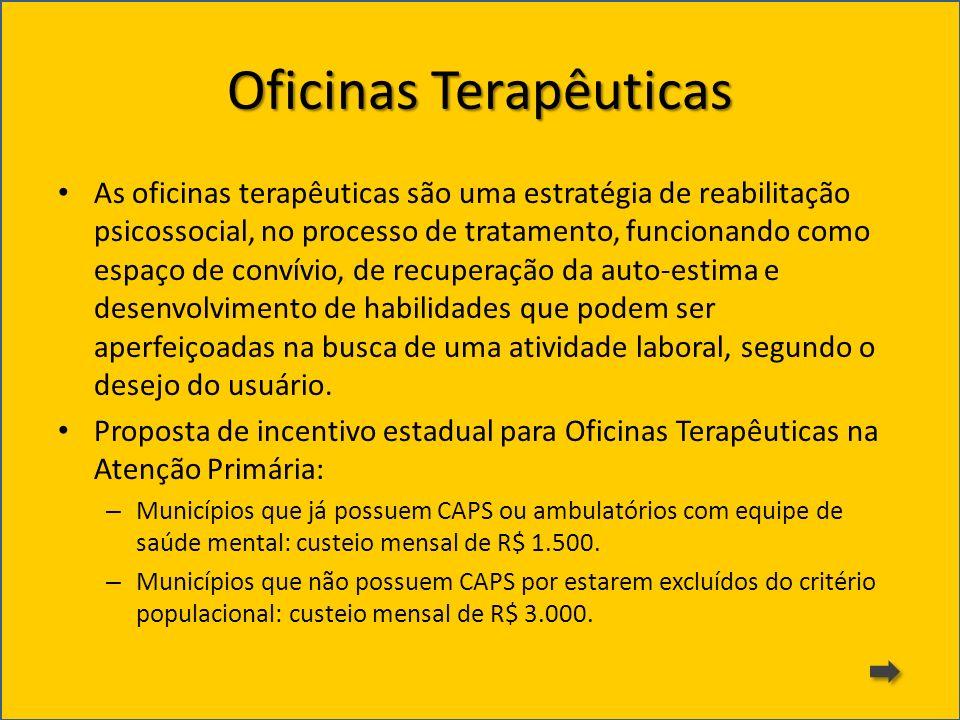 Oficinas Terapêuticas
