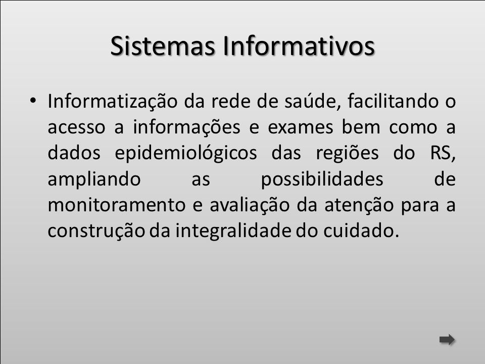 Sistemas Informativos