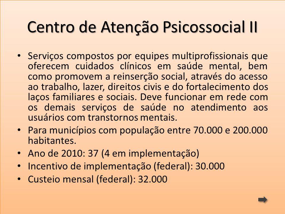 Centro de Atenção Psicossocial II