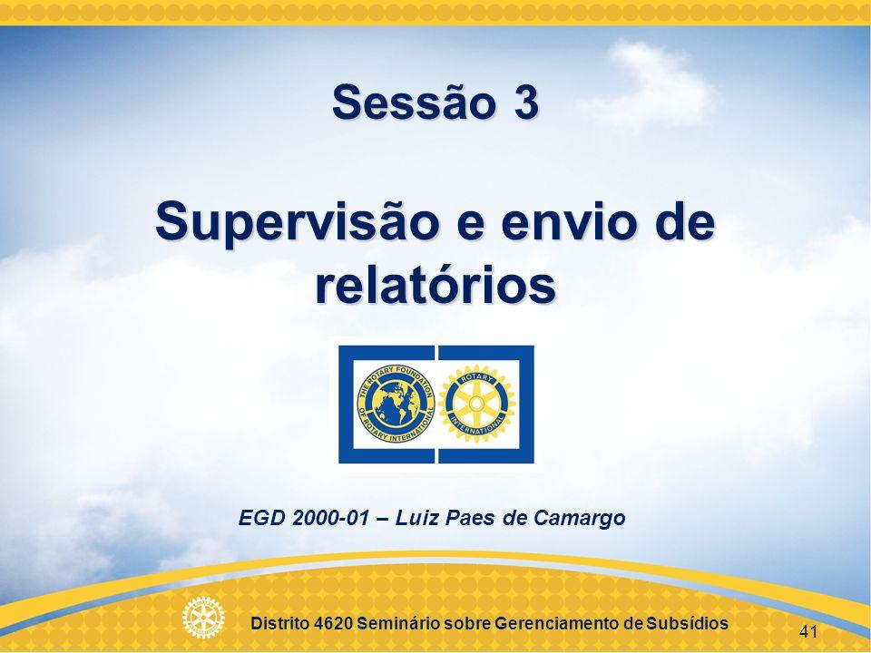 Sessão 3 Supervisão e envio de relatórios
