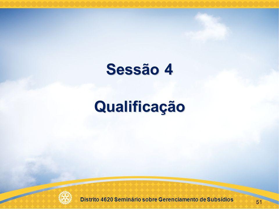 Sessão 4 Qualificação