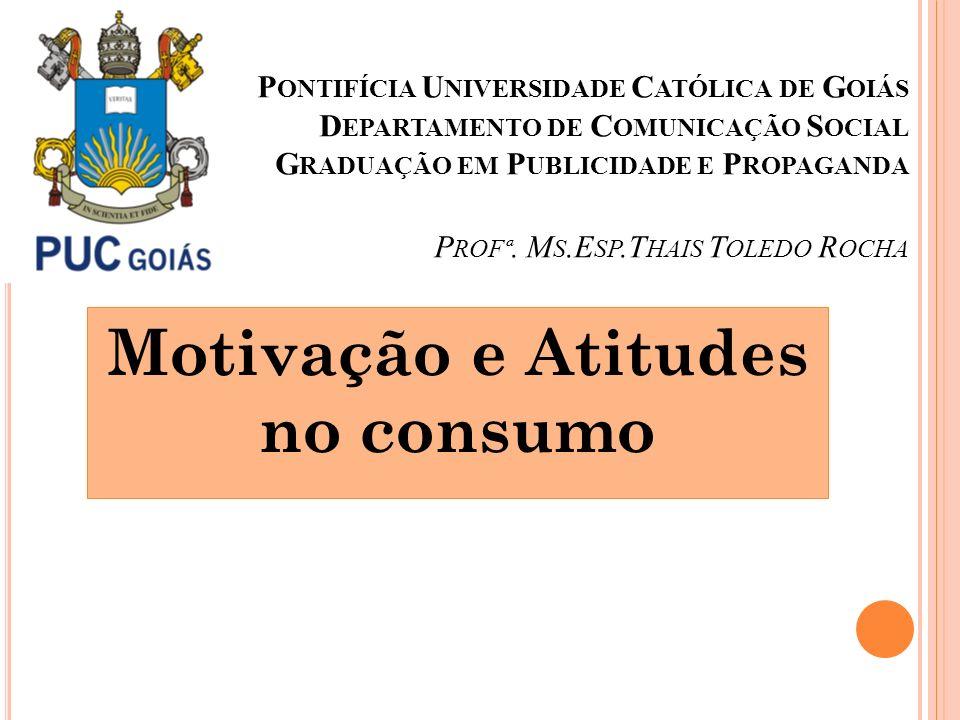 Motivação e Atitudes no consumo