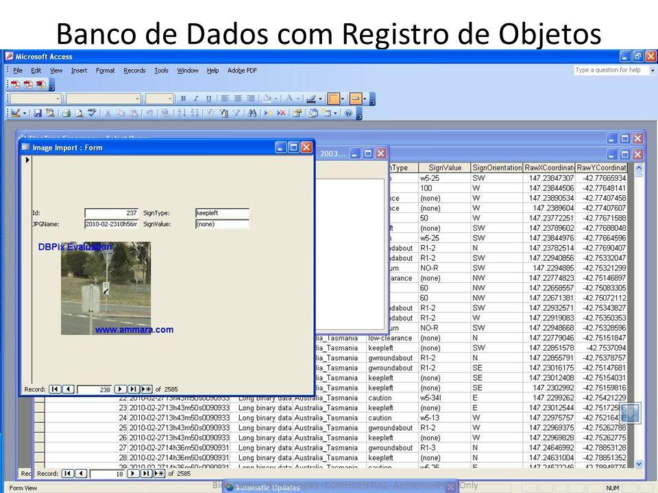 Banco de Dados com Registro de Objetos