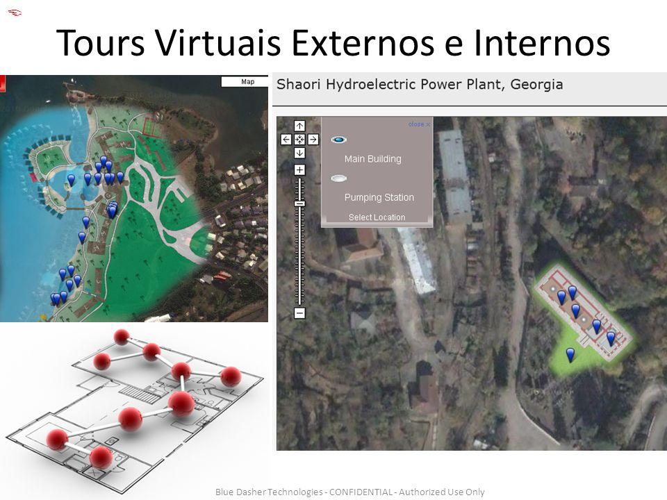 Tours Virtuais Externos e Internos