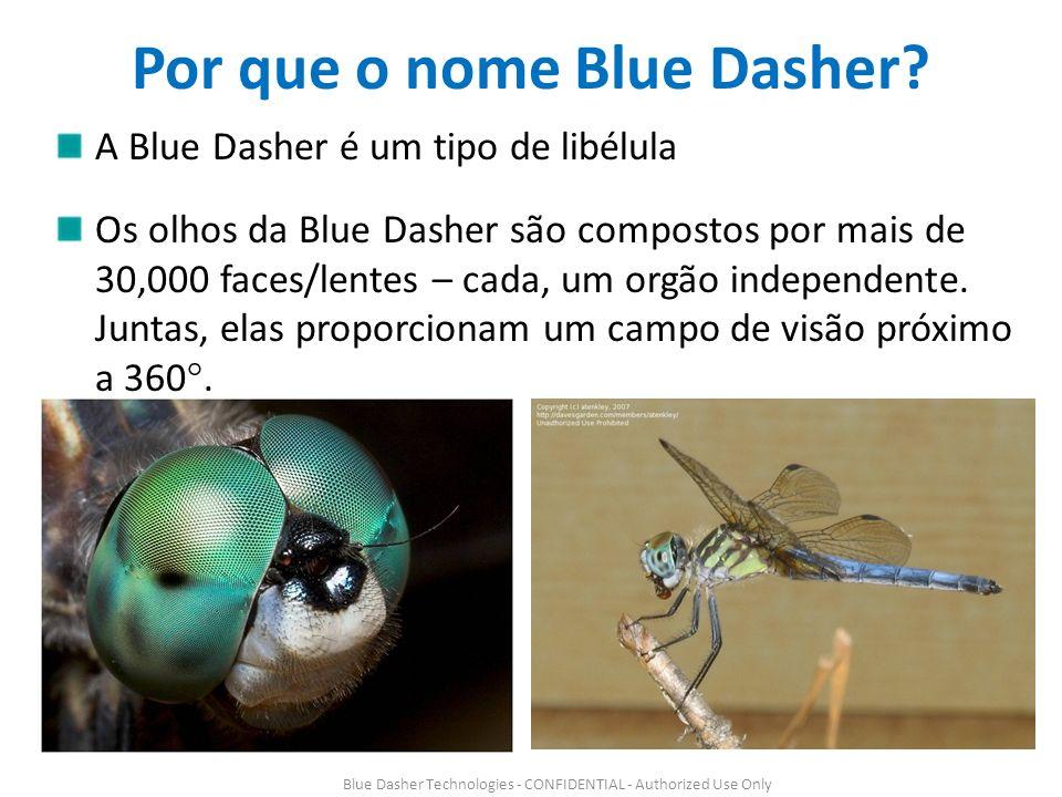 Por que o nome Blue Dasher