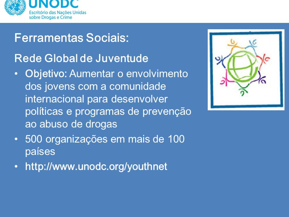 Ferramentas Sociais: Rede Global de Juventude