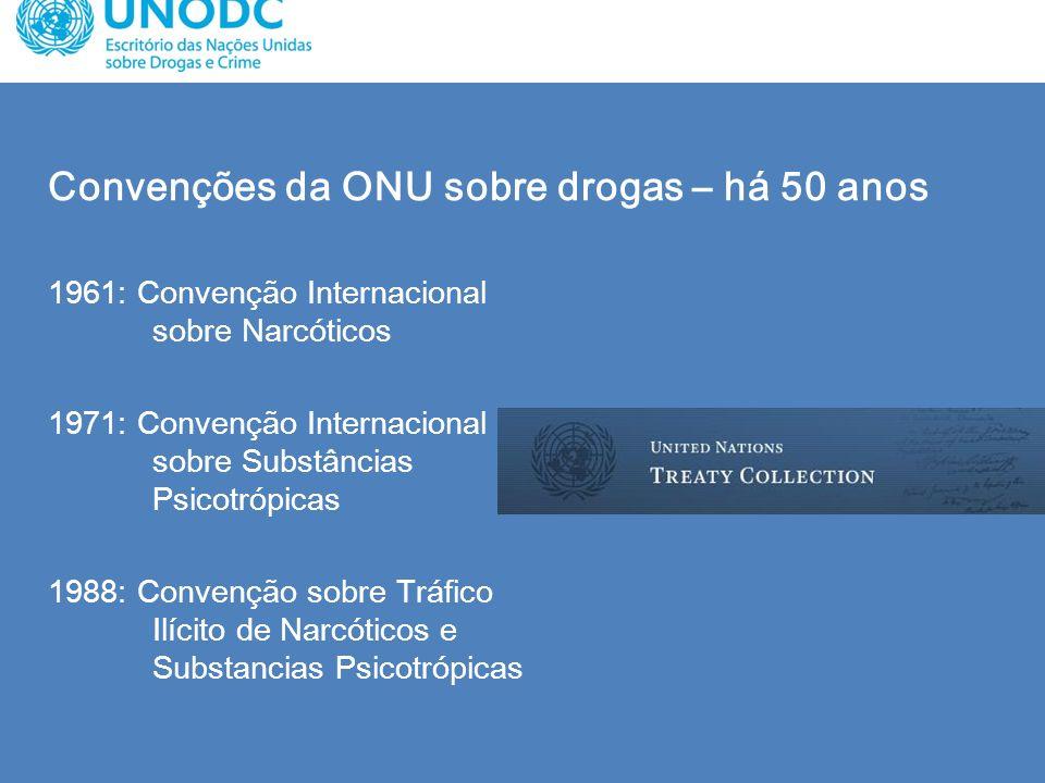 Convenções da ONU sobre drogas – há 50 anos