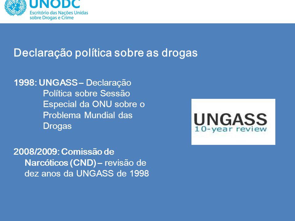 Declaração política sobre as drogas