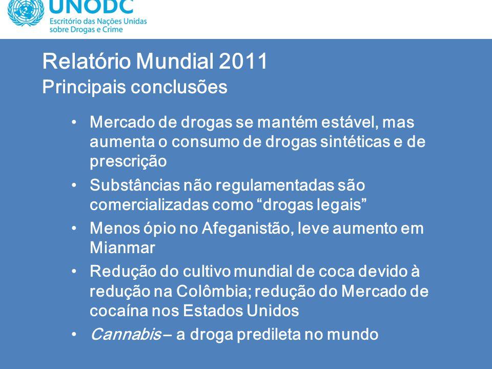 Relatório Mundial 2011 Principais conclusões