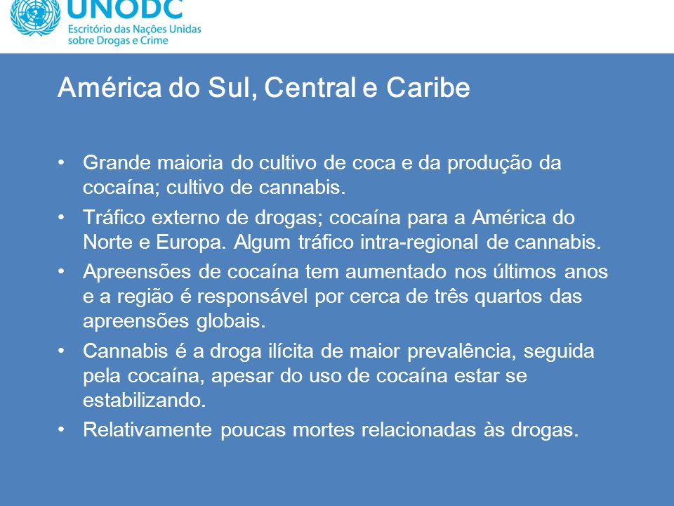 América do Sul, Central e Caribe