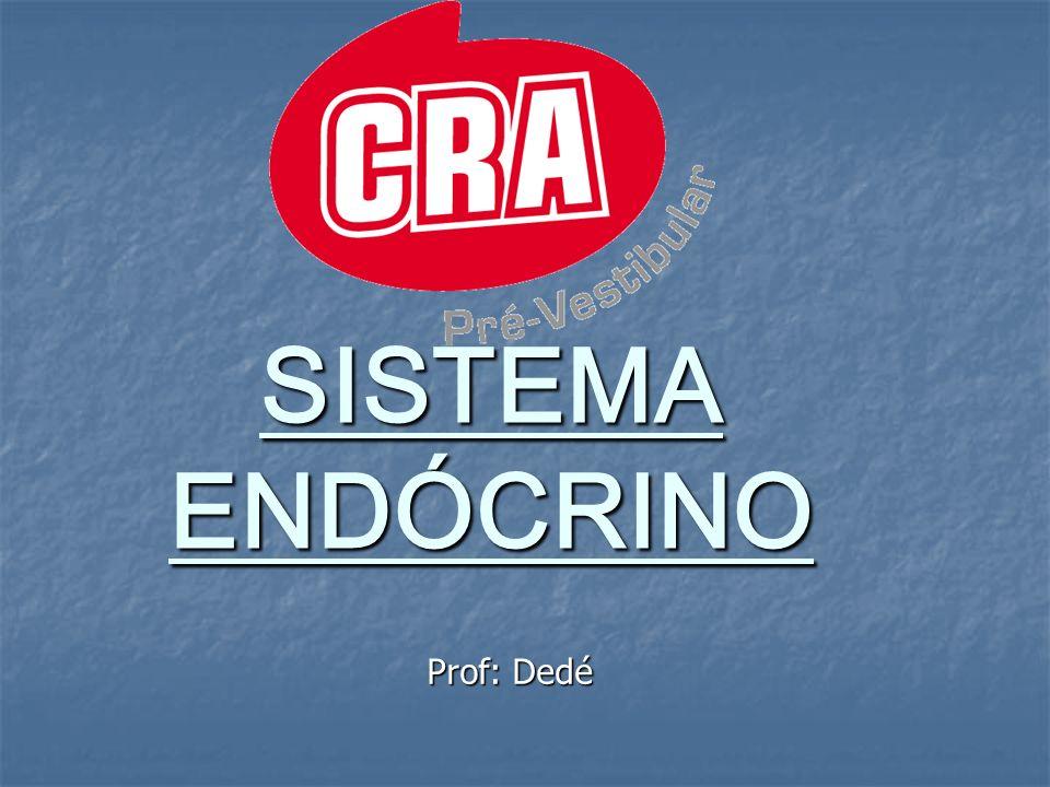 SISTEMA ENDÓCRINO Prof: Dedé