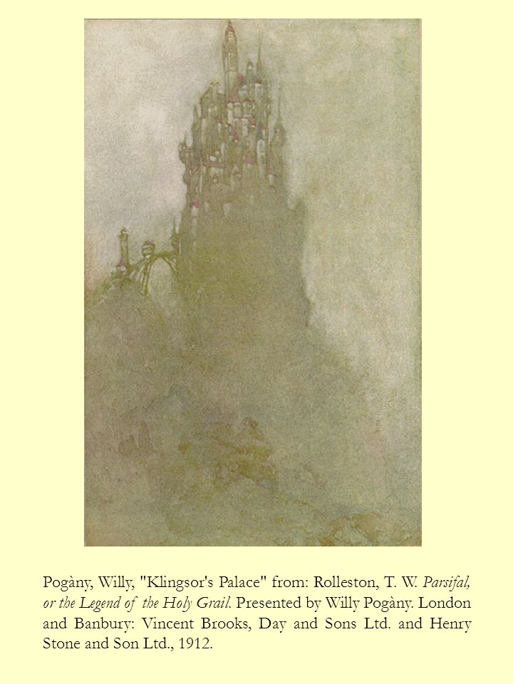 Pogàny, Willy, Klingsor s Palace from: Rolleston, T. W