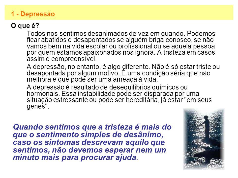 1 - Depressão O que é