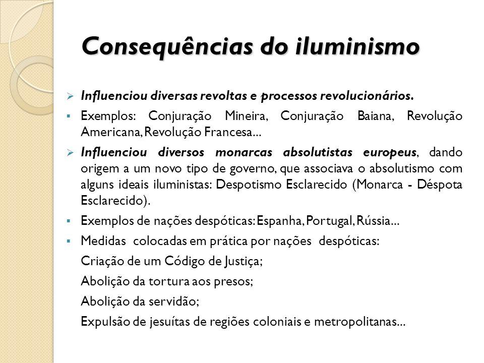 Consequências do iluminismo