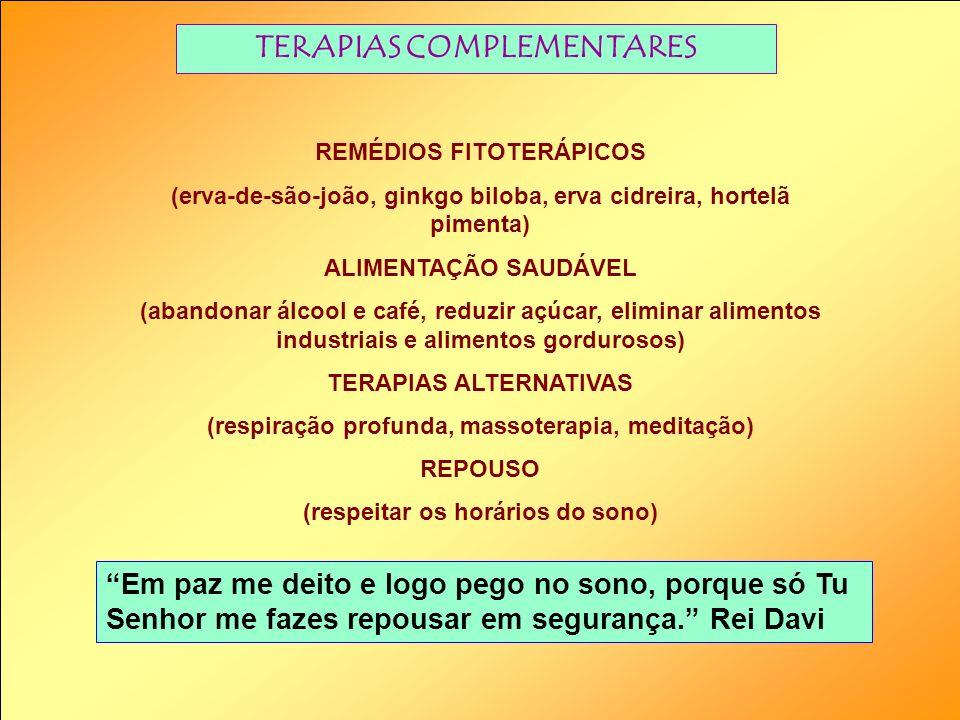 TERAPIAS COMPLEMENTARES