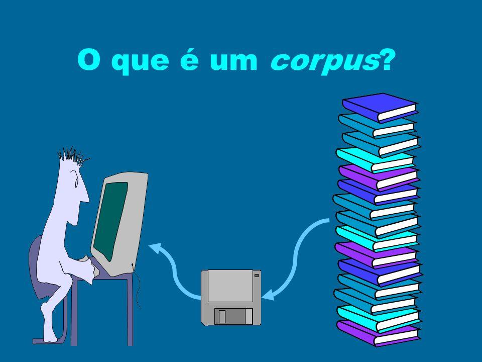 O que é um corpus