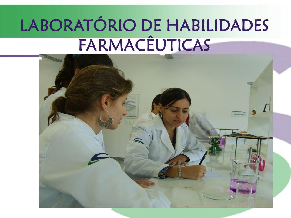 LABORATÓRIO DE HABILIDADES FARMACÊUTICAS