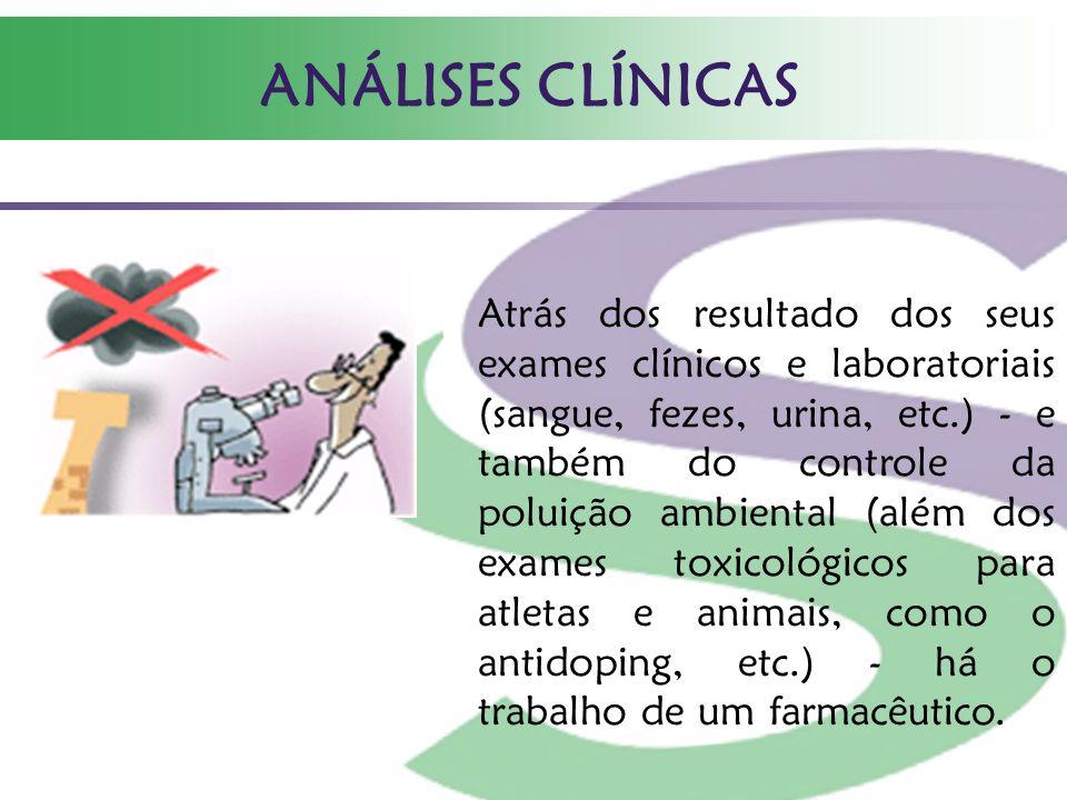 ANÁLISES CLÍNICAS