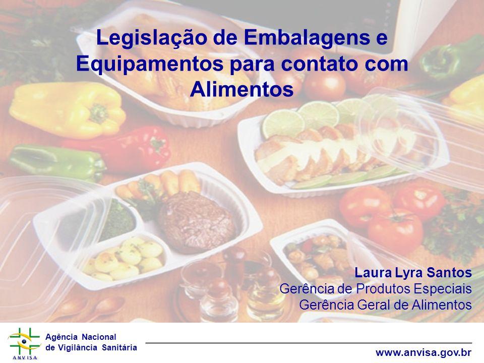Legislação de Embalagens e Equipamentos para contato com Alimentos