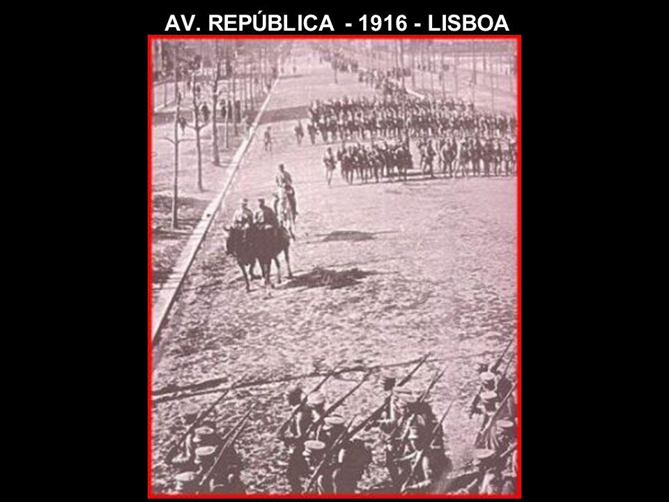 AV. REPÚBLICA - 1916 - LISBOA