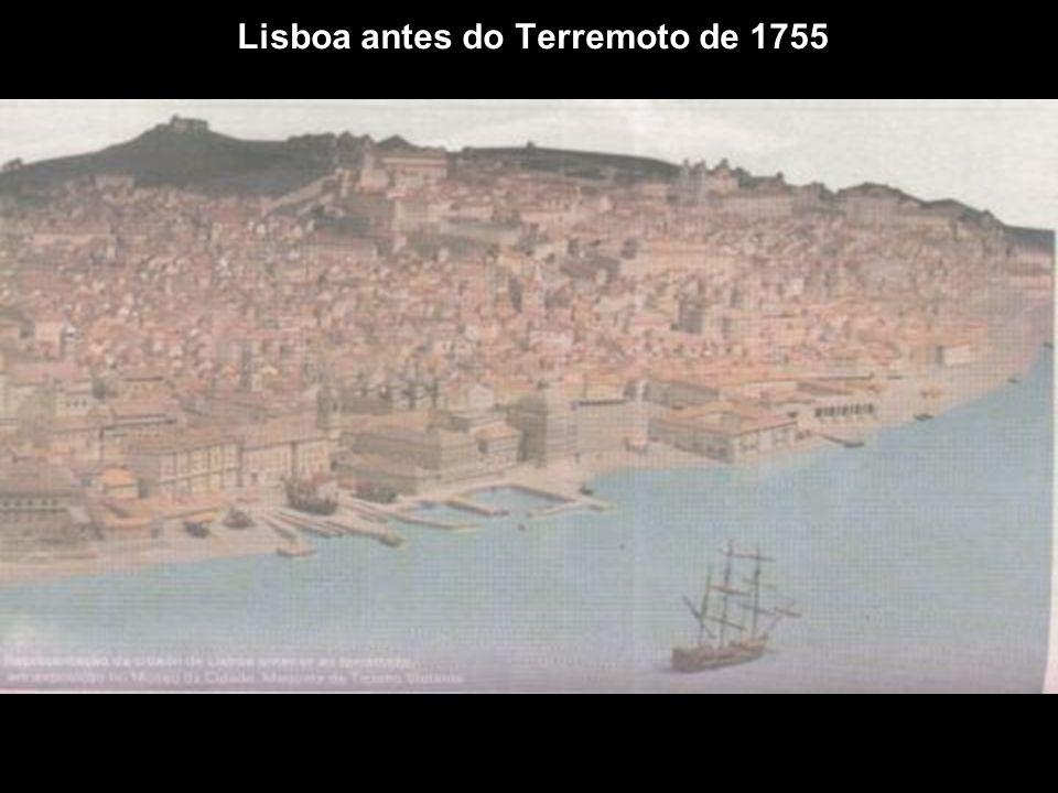 Lisboa antes do Terremoto de 1755