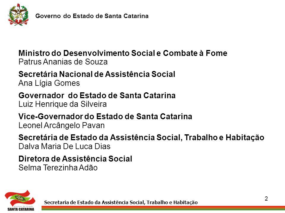 Ministro do Desenvolvimento Social e Combate à Fome