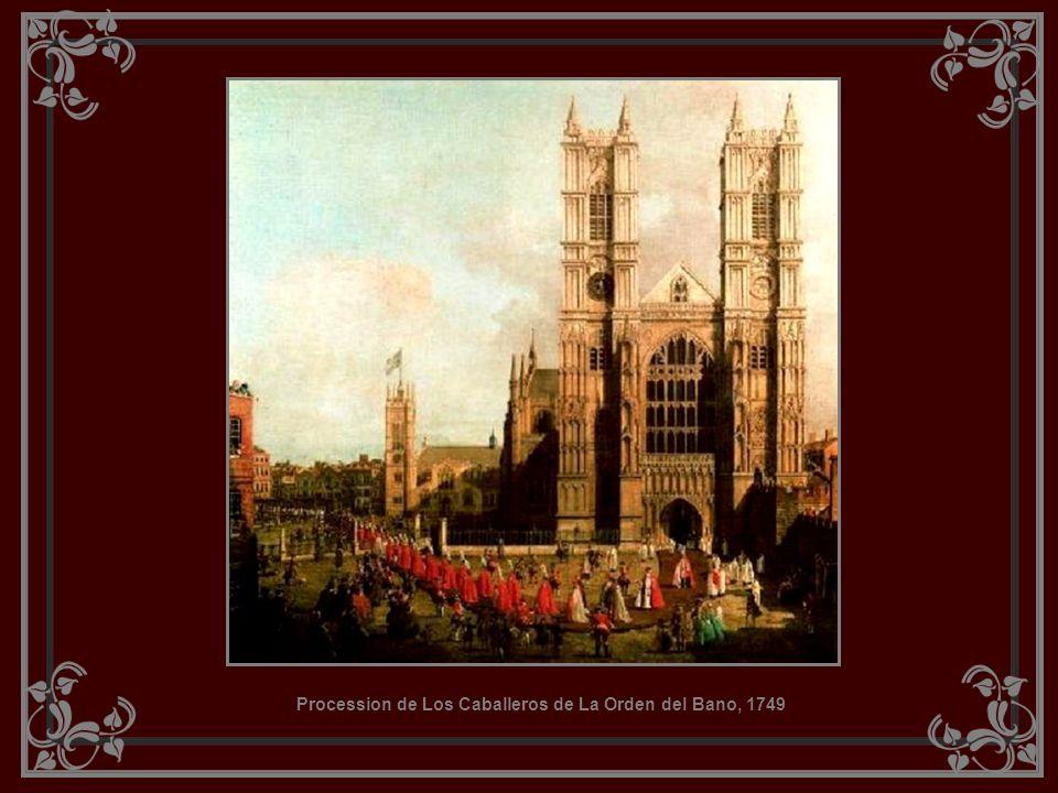 Procession de Los Caballeros de La Orden del Bano, 1749